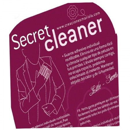 Guante Quitapelusas secret cleaner pack 5