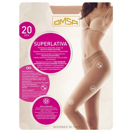 PANTY OMSA 4067 SUPERLATIVA 20den PACK 5
