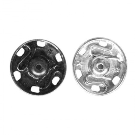 Automático Broche Metal 19 mm Pack 50