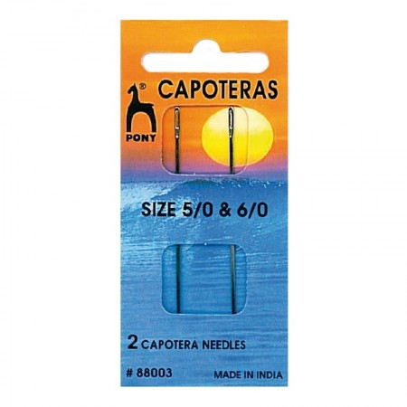 Aguja Capotera Surtido 5/0 y 6/0 Pack 10